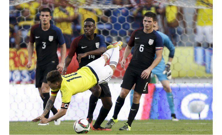 Preolímpico: valioso empate de EEUU en Colombia