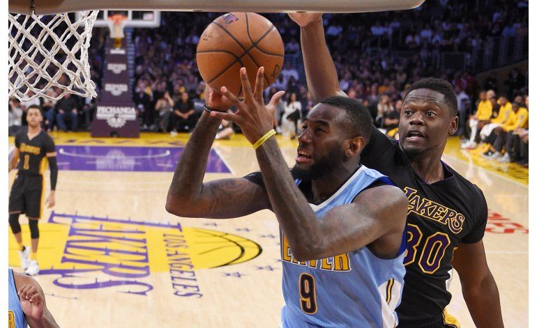 NBA: Nuggets 116, Lakers 105; D.J. Augustin anota 20