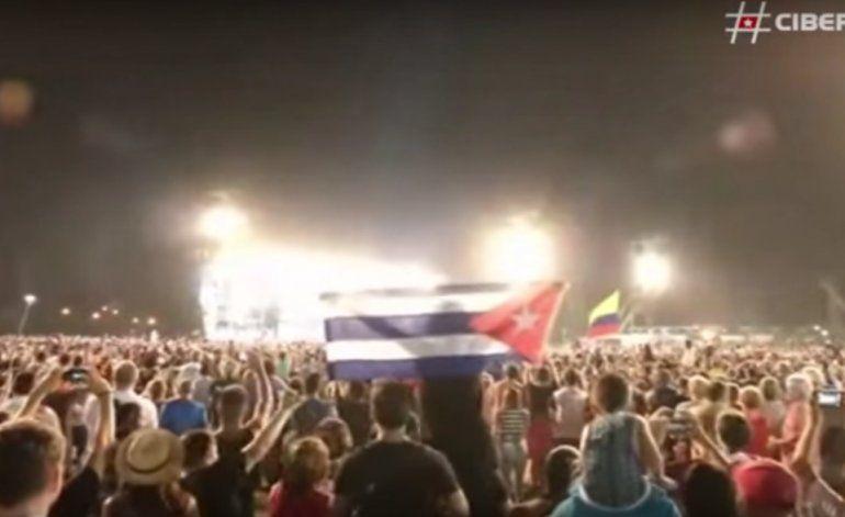Así vivió Cuba el concierto de los Rolling Stones