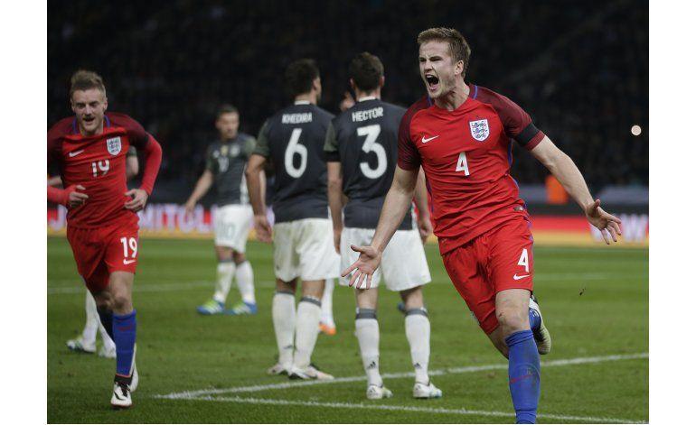 Inglaterra remonta y se impone 3-2 en Alemania