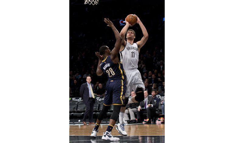 López anota 23 y Nets derrotan a Pacers