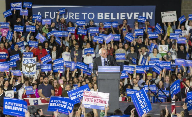 Sanders gana en Washington, Alaska y Hawaii