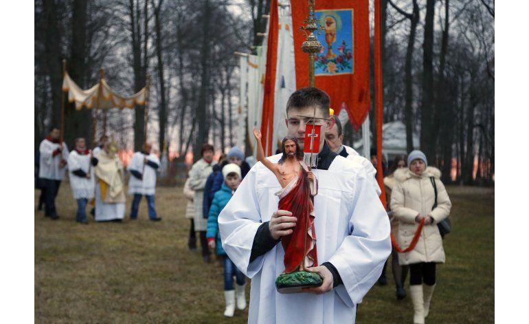 Cristianos celebran la Semana Santa
