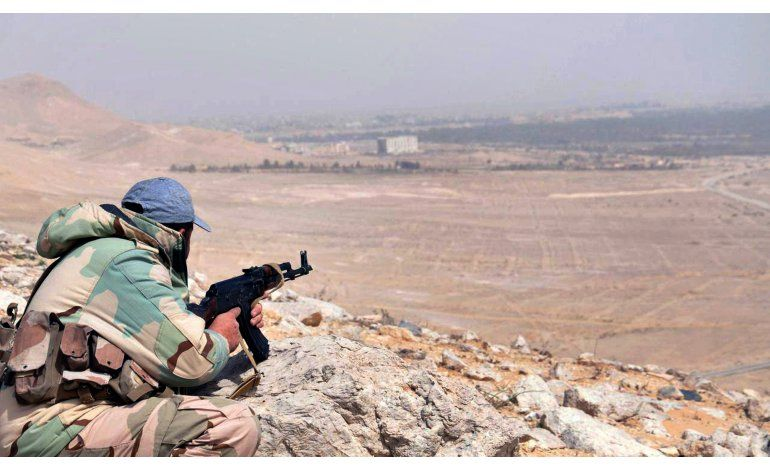 Fuerzas sirias recapturan Palmira