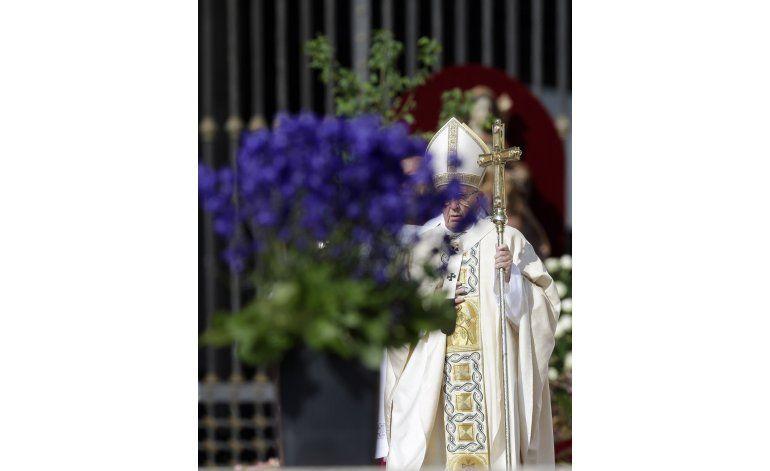 El papa recuerda a las víctimas del terrorismo
