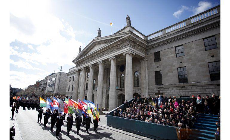 Irlanda conmemora el centenario de revuelta antibritánica