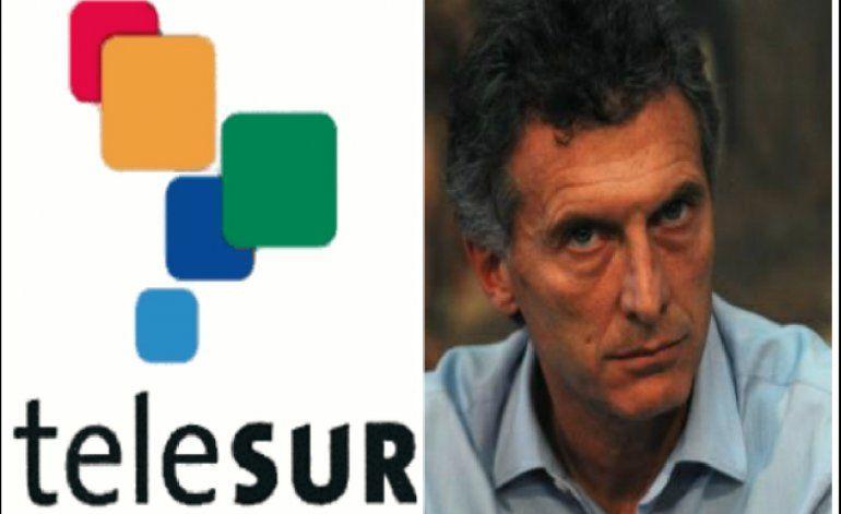 Argentina dejará de financiar el canal Telesur