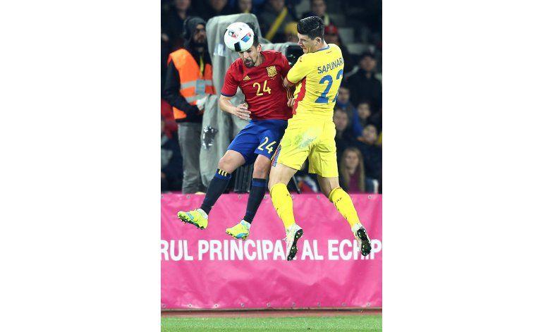 Rumania y España empatan 0-0 en amistoso de preparación