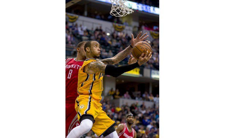 George ayuda con 25 puntos y Pacers superan a Rockets