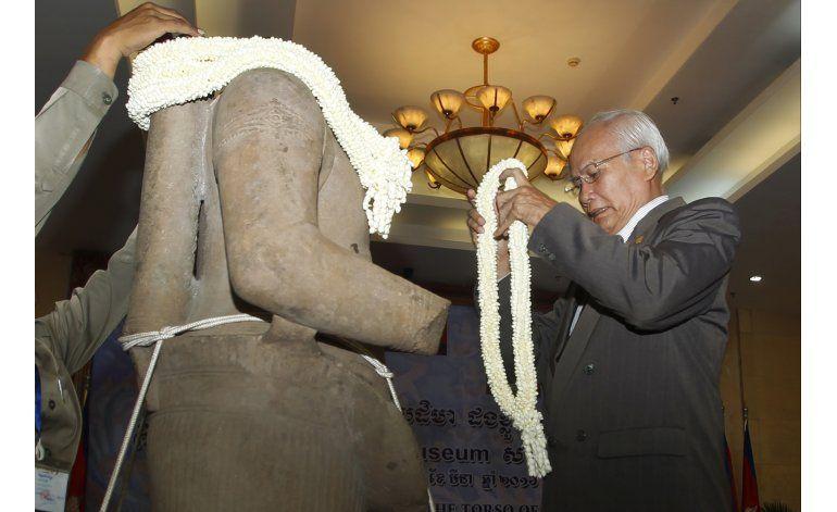 Museo de EEUU devuelve a Camboya estatua del siglo X
