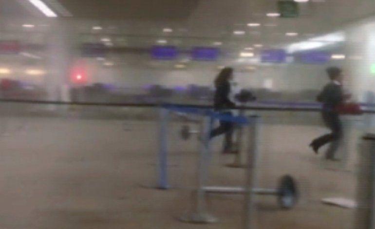 Revelan nuevo video de los ataques en Bruselas y autoridades liberan a sospechoso por falta de pruebas