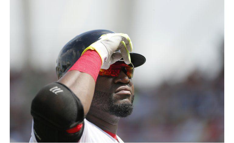 Boston homenajea a Ortiz en su último juego en Fort Myers