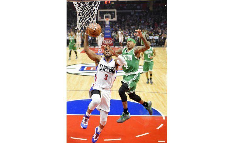 Paul y Jordan lucen en triunfo de Clippers sobre Celtics