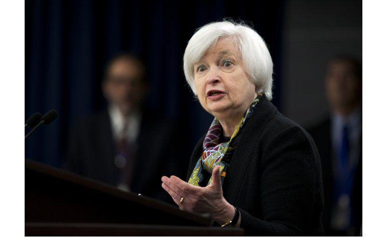 Yellen: Aumento de las tasas de interés será gradual