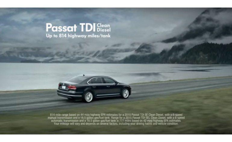 Demandan a VW en EEUU por publicidad sobre diésel limpio