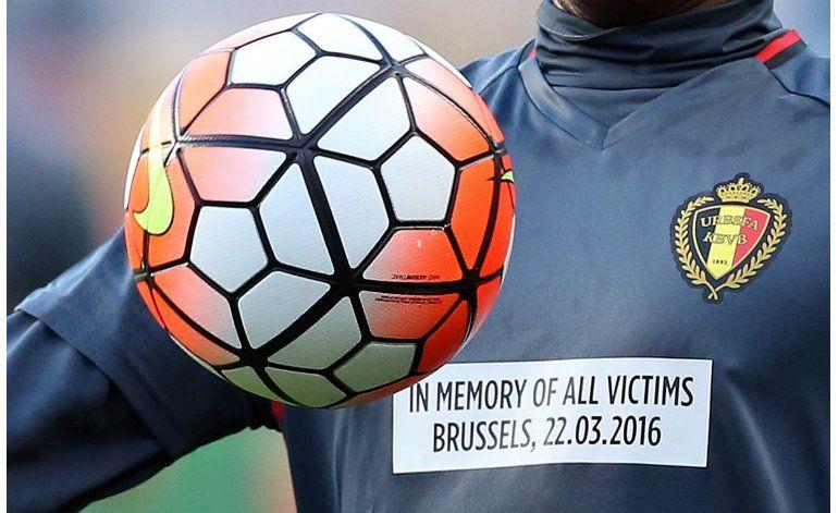 Portugal vence a Bélgica en primer partido tras atentados
