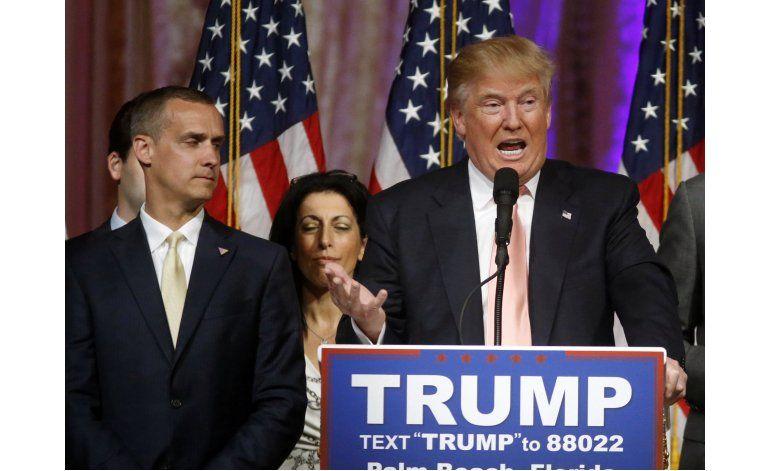 Acusan a jefe de campaña de Trump de agresión a reportera