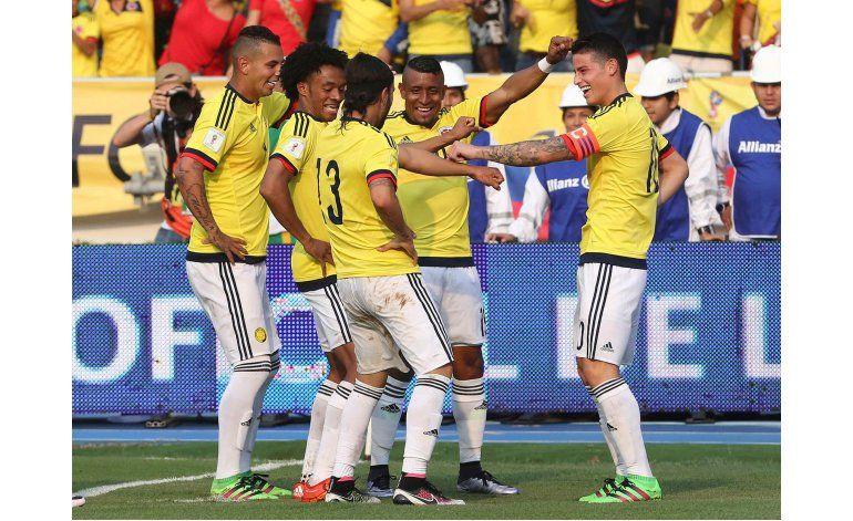 Colombia se luce con un contundente triunfo ante Ecuador