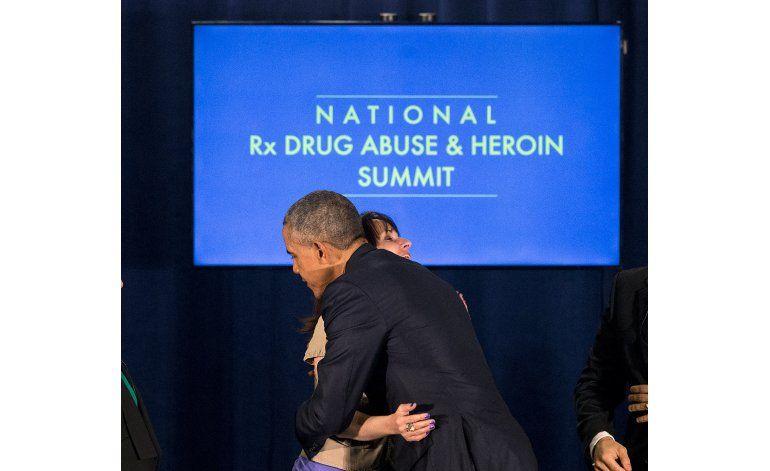 Obama vuelve su atención al problema del consumo de opioides