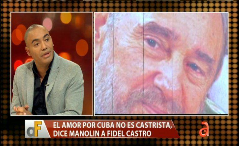 Exclusiva: Manolín habla sobre la carta que le hizo al dictador Fidel Castro
