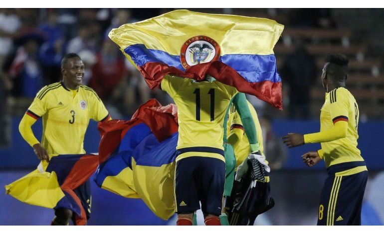 Colombia vence a EEUU y se clasifica al fútbol de Río 2016