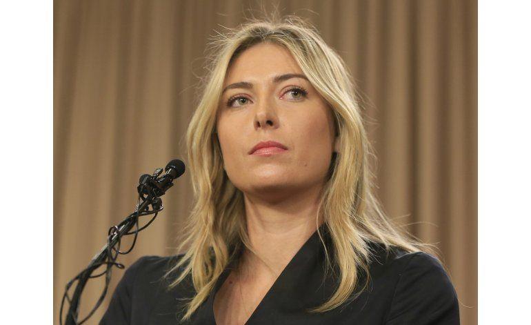 Audiencia de Sharapova podría ser en junio