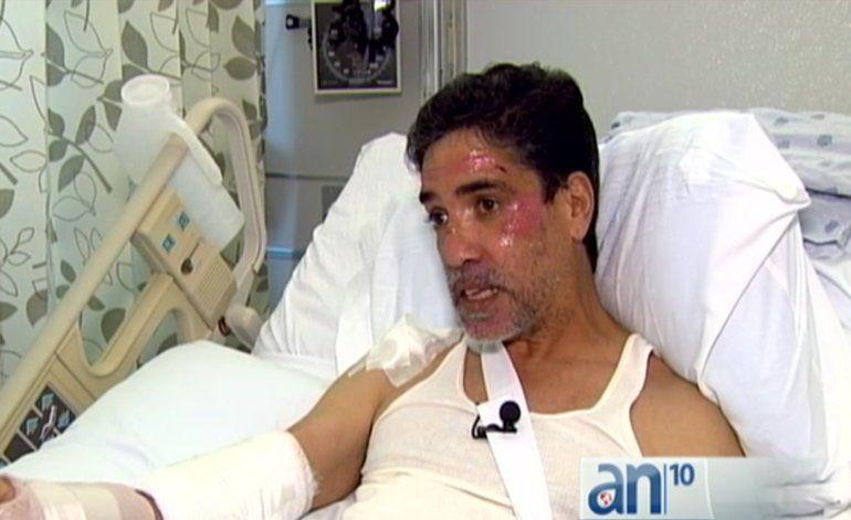Hombre de origen cubano es atropellado por ladrón que robo su auto