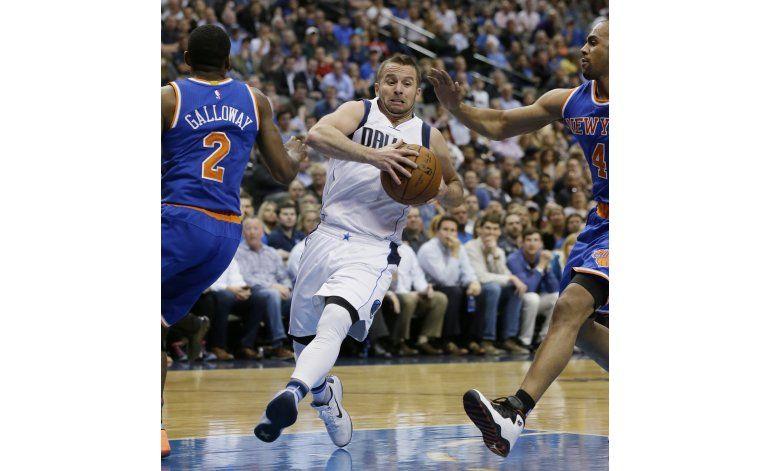 Boricua Barea lleva a Mavericks a un triunfo sobre Knicks