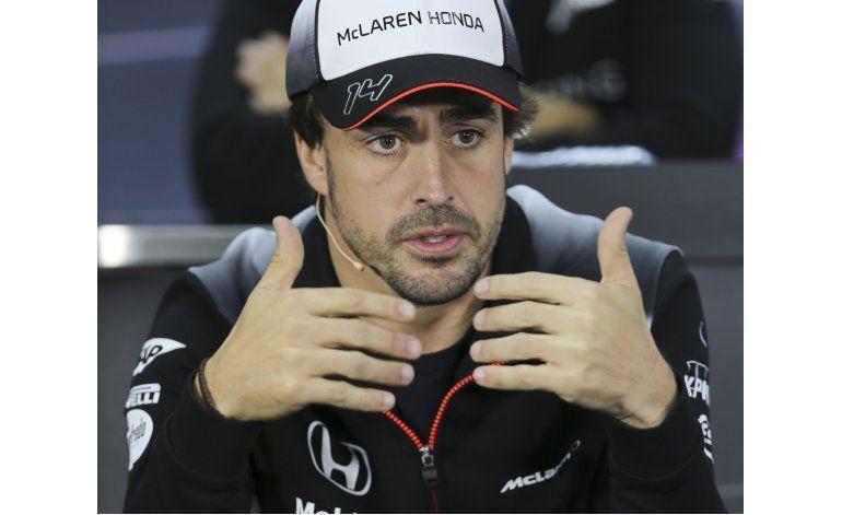 Fernando Alonso se perderá GP de Bahrein