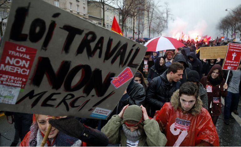 Movilizaciones masivas contra la reforma laboral en Francia