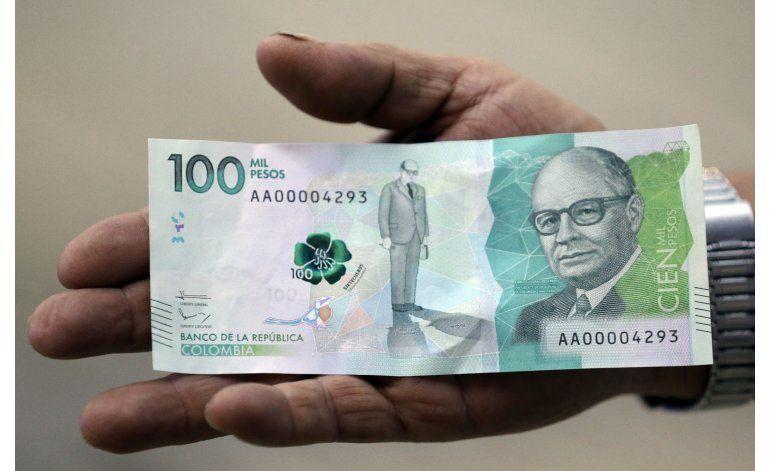 Comienza a circular en Colombia billete de 100.000 pesos