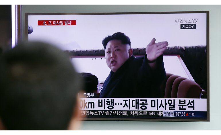 Norcorea dispara misil de corto alcance al mar, afirma Seúl