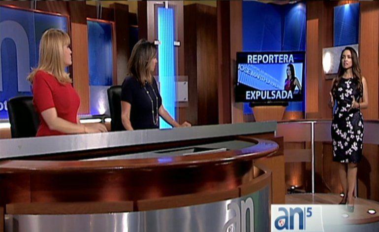 La periodista de América Tevé Gina Romero cuenta en detalles como fue expulsada de Cuba