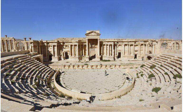 Palmira: Ciudad fantasma con cicatrices de destrucción de EI