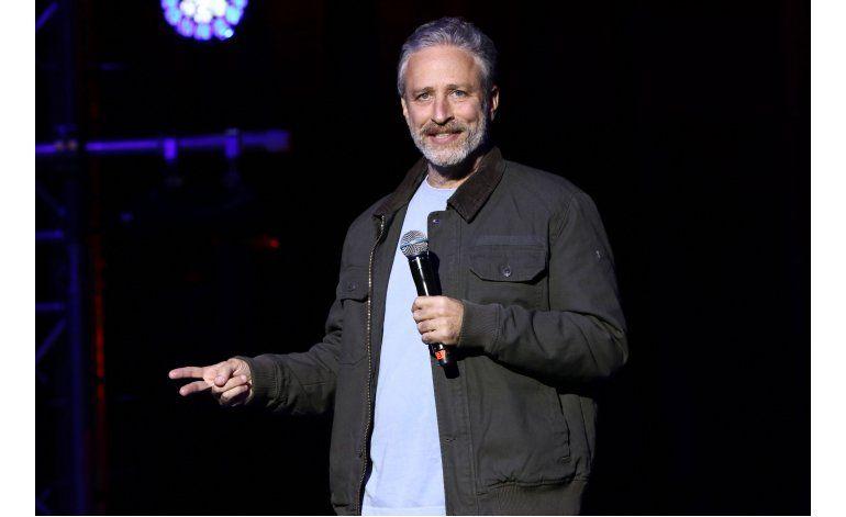 Cómico Jon Stewart salva a un toro que huyó por Nueva York