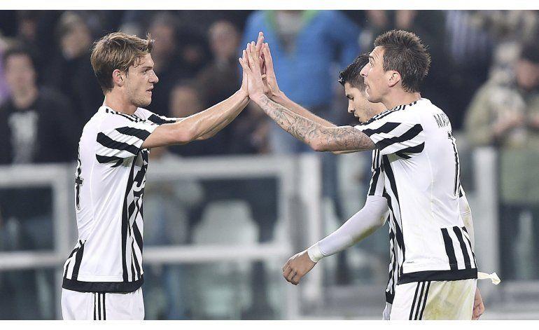 Juventus gana y se aleja en la Serie A
