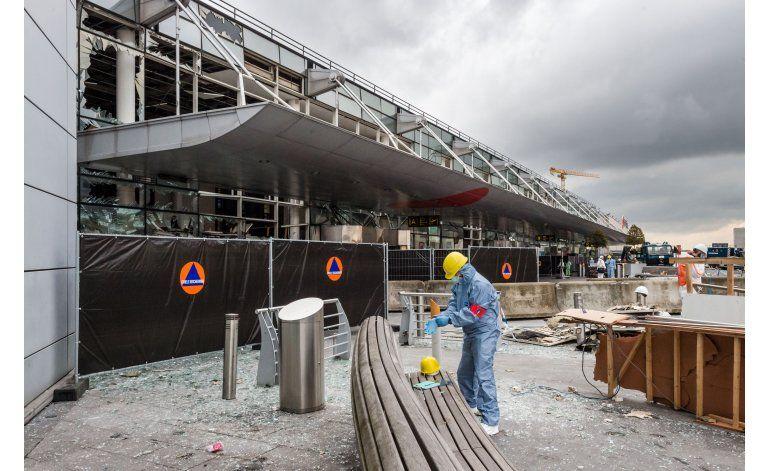Aeropuerto de Bruselas reabrirá parcialmente el domingo