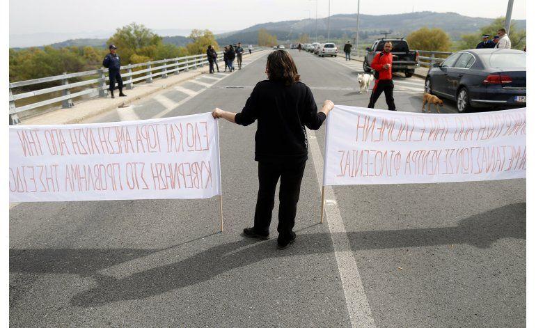 Protestan en Grecia y Turquía por la presencia de migrantes