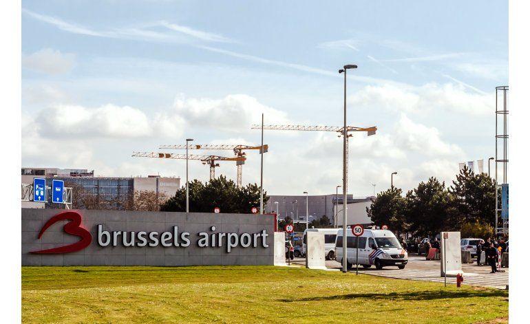 Aeropuerto de Bruselas reabre con tres vuelos de salida