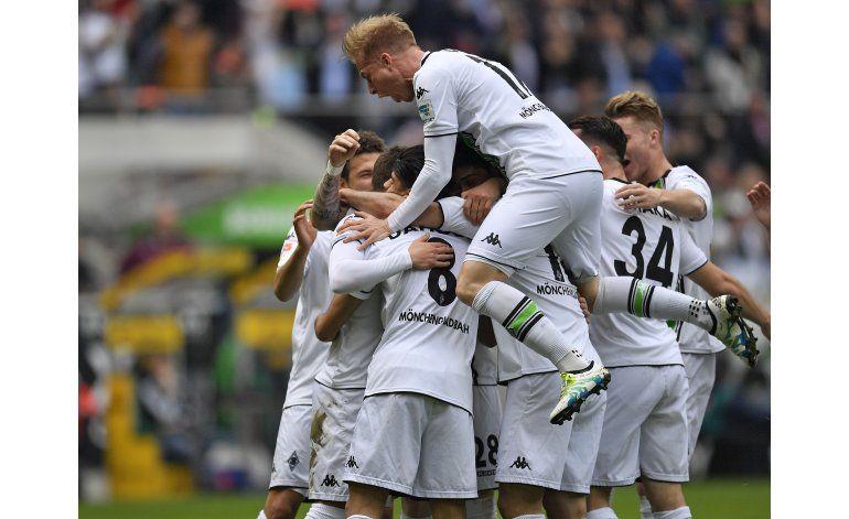 Gladbach aplasta a Hertha para situarse 4to en la Bundesliga