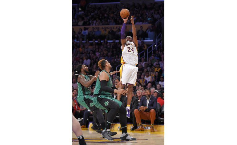 Celtics sobreviven a 34 puntos de Kobe