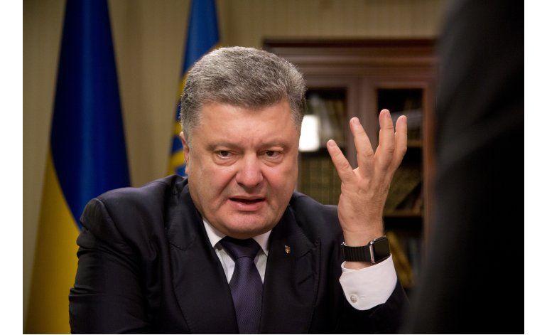 Presidente de Ucrania afectado por escándalo de evasión