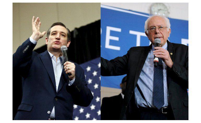 Sanders y Cruz lideran en Wisconsin