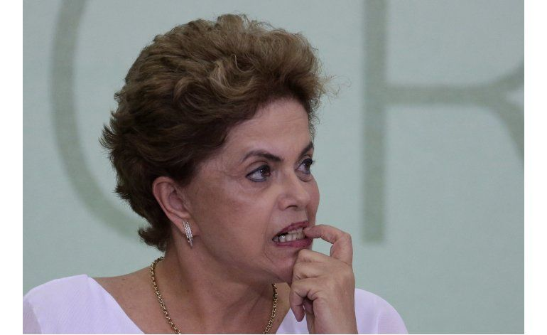 Brasil: Fiscal general impugna proceso contra Rousseff