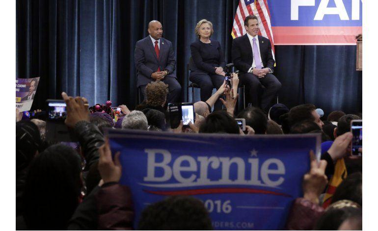 LO ULTIMO: Clinton y Sanders debatirán el 14 de abril