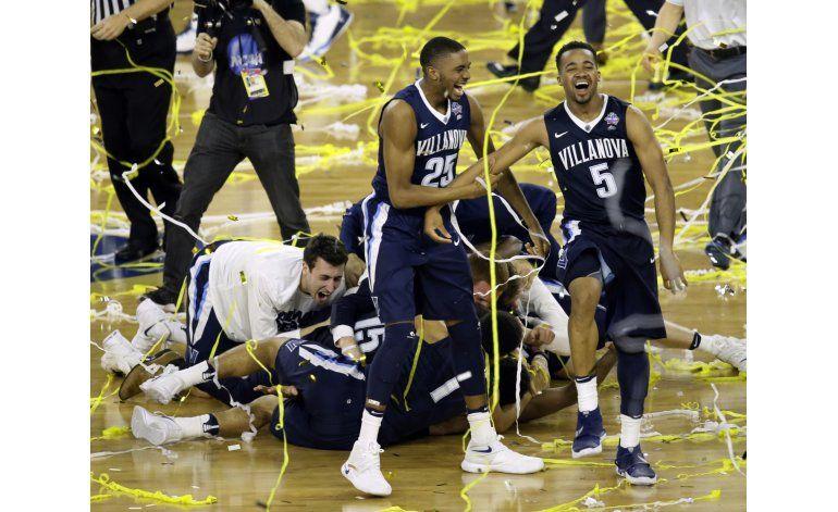 NCAA: Villanova se corona, en final de película