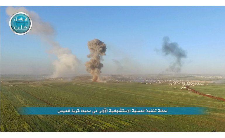 Ataque a barrio curdo en Alepo, Siria, deja nueve fallecidos