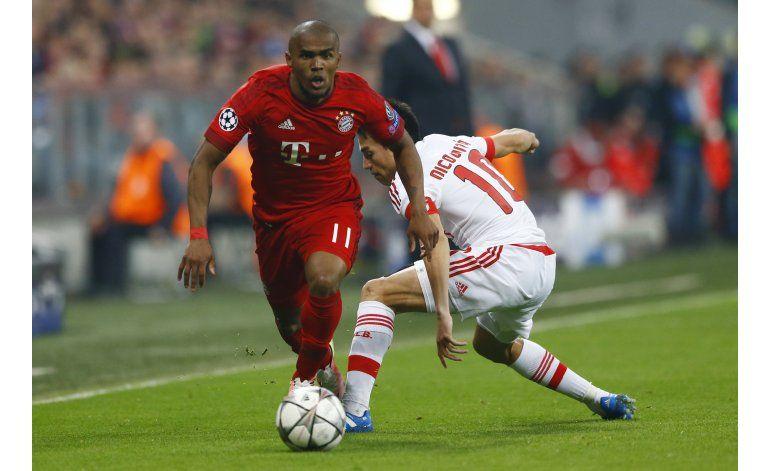 Bayern vence Benfica 1-0 con gol de Vidal