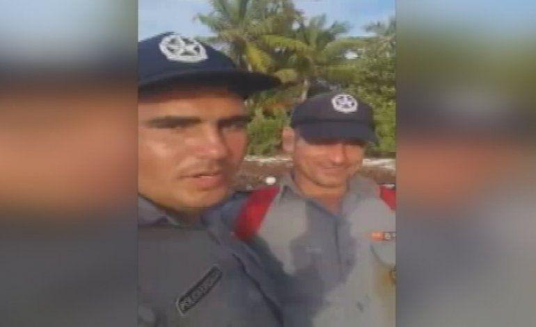 Policías cubanos llegan como balseros a los Cayos de la Florida