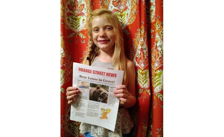 Reportera de 9 años se responde a críticas por cubrir crimen